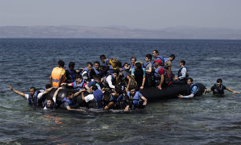Sixty migrants feared missing after boat capsizes on lake in Turkey