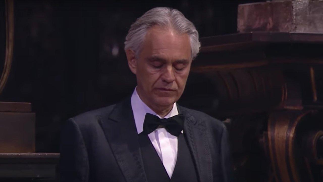 Opera legend Bocelli