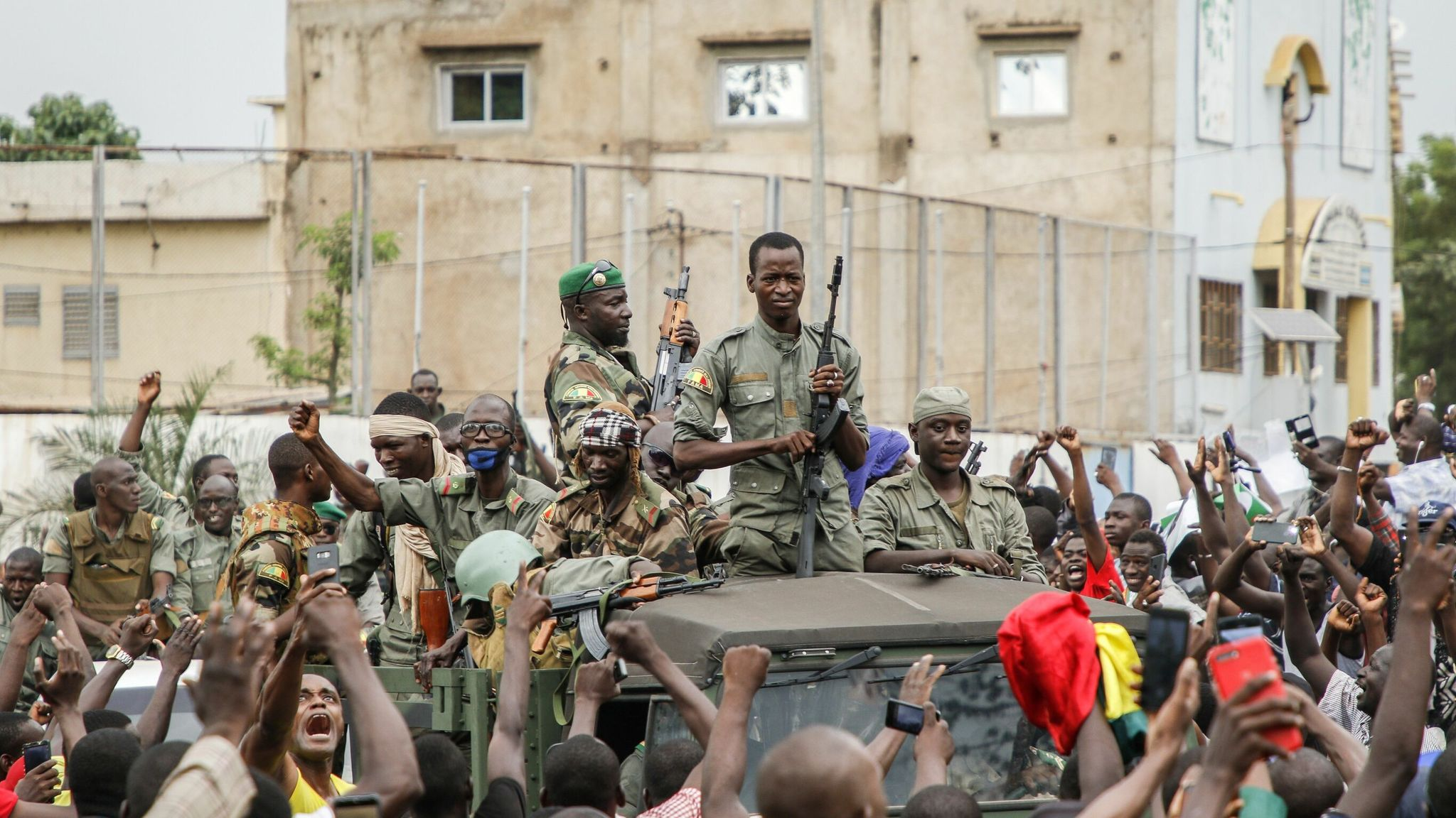 UN Security Council strongly condemns military coup in Mali