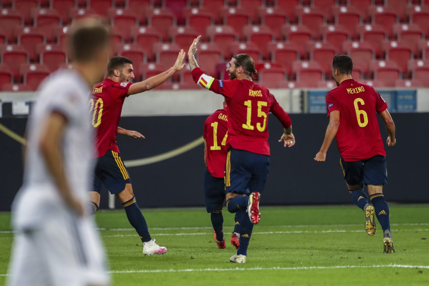 Spain celebrates 'different and special' Fati as team salvages point