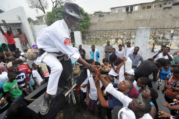 Christianity, voodoo mix on Haiti's Day of Dead