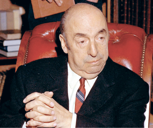 Poison ruled out as cause of Chilean poet Neruda's death