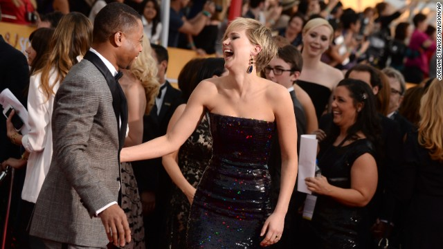 'American Hustle' takes home top SAG award