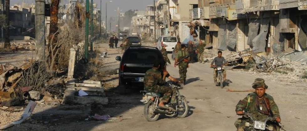 Fighting rages in northeast Damascus: monitor