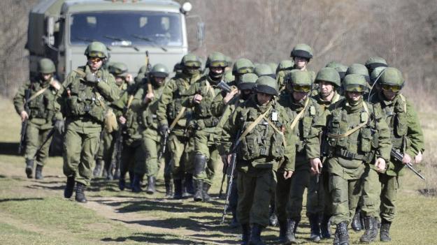 Puzzled soldiers struggle to understand Crimea crisis