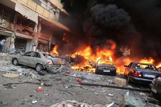 Lebanon car bomb kills two Hezbollah members: security