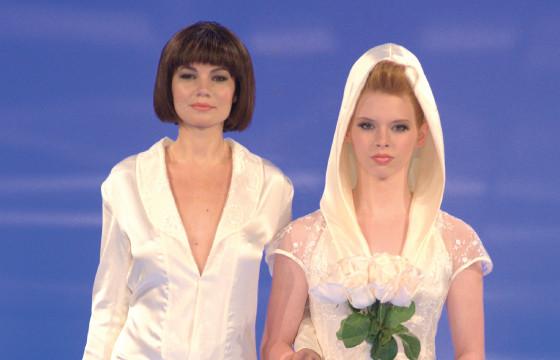 German designer fashions 'hers & hers' bridal niche