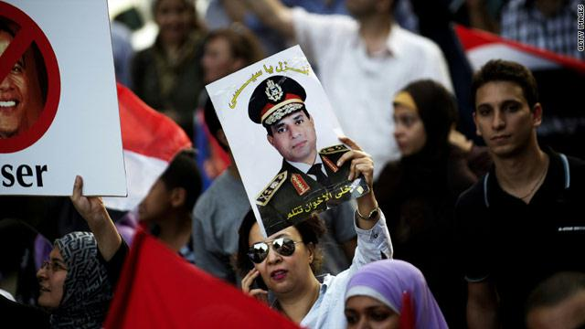 Egypt's Sisi announces run for presidency