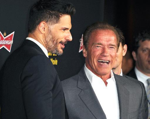 Arnie tries for subtlety, with guns, in 'Sabotage'