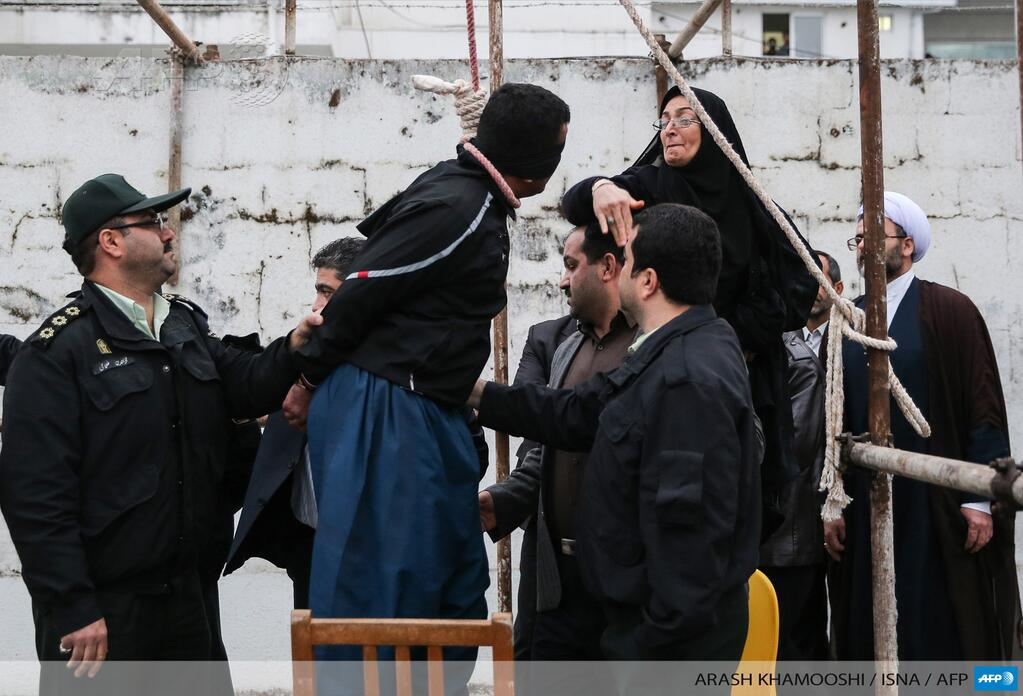 Iranian mother spares life of son's killer with slap