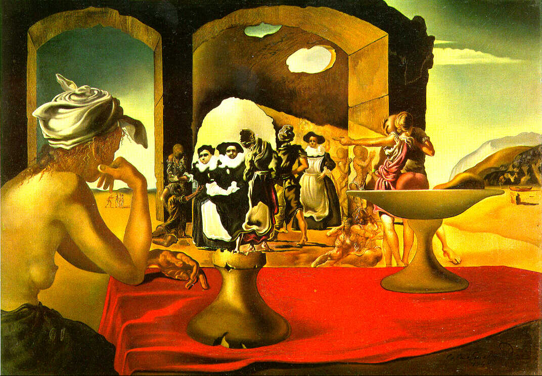 Oil painting certified as early work by Dali