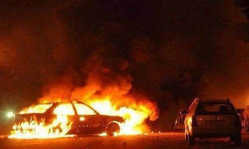 Syria TV says 30 killed in blast near Iraq border
