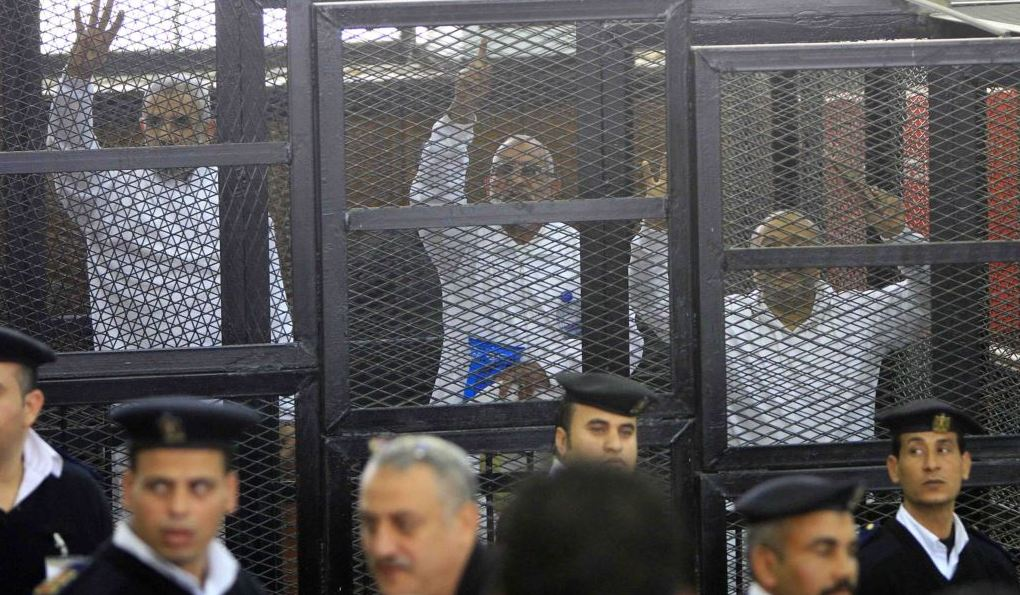 Egypt court sentences 12 Morsi supporters to death