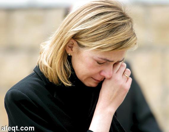 Spain's Princess Cristina, husband suffer downfall