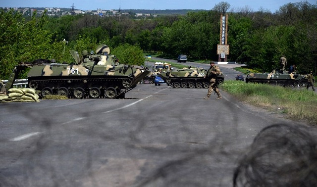 Ukraine rebels go to the museum -- for WWII tanks and cannons