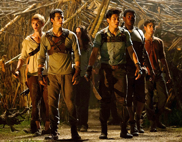 'The Maze Runner' weaves way to top of box office