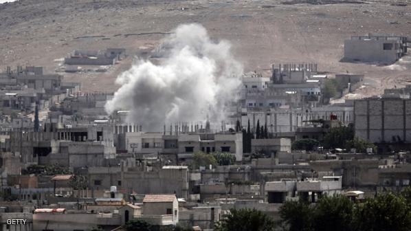 US strikes 'exposed' IS force near Kobane: officials
