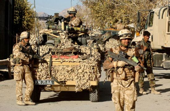 Exhibition on British troops in Afghanistan opens in London