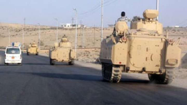Egypt imposes state of emergency in Sinai after bomb kills 30 soldiers