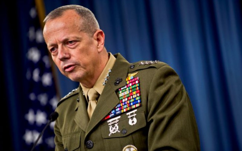 Top US general favors military advisers in western Iraq