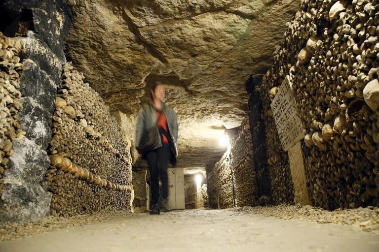 'Empire of the dead': Paris' Catacombs still entice visitors