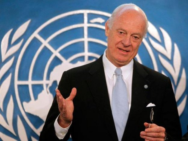 Syria govt 'interested' in Aleppo freeze plan: UN envoy