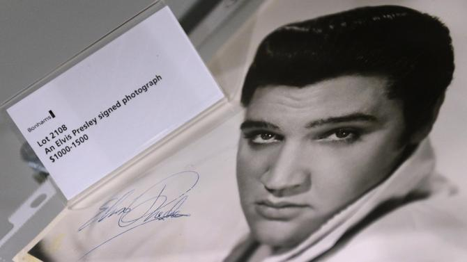 First-ever Elvis record to go on auction