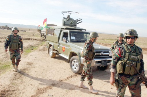 Iraq Kurds press fightback as top jihadist reported killed