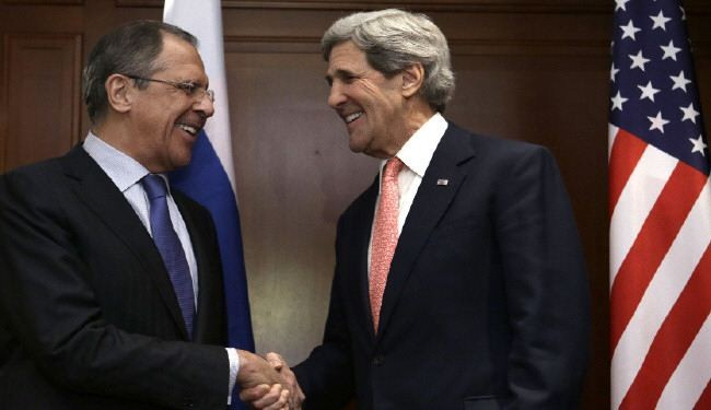 Kerry, Lavrov discuss Ukraine and Middle East crises