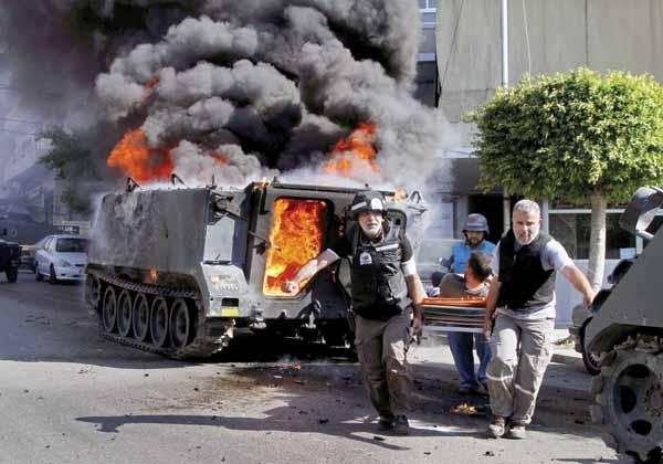 Suicide bombers kill nine in Lebanon's Tripoli