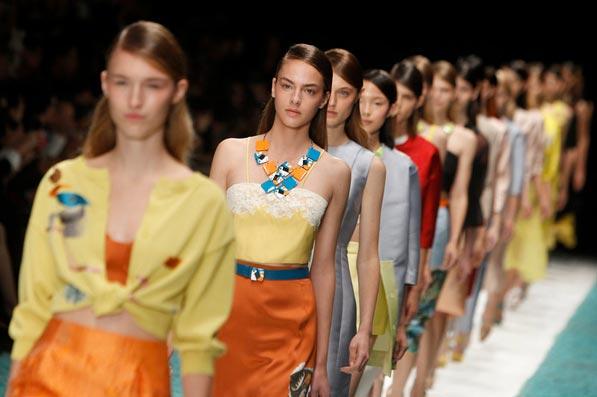 Paris fashion week delivers sad world escapism it craves