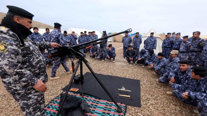 Riyadh talks seek stronger Iraqi army: Western source
