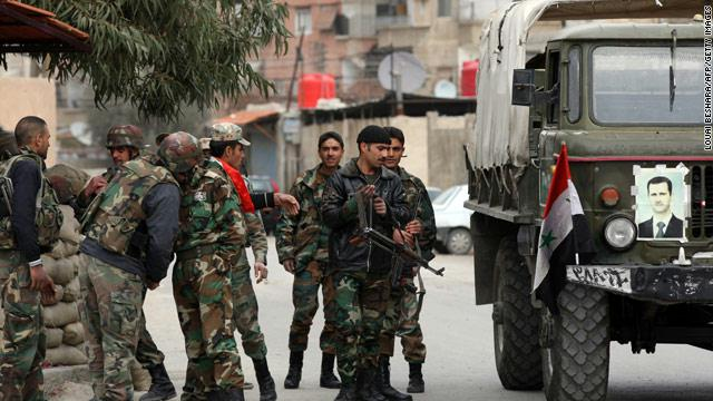 Syria forces execute 10 children of rebels: monitor