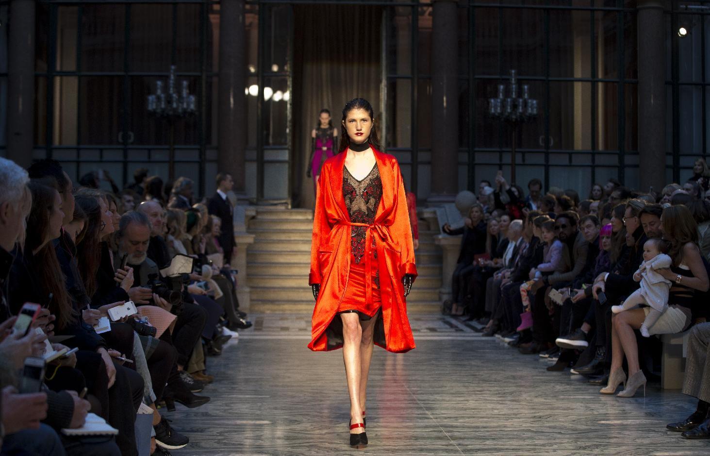 Gareth Pugh prepares for battle at London Fashion Week