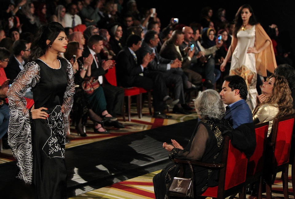 Glamour over gloom as Baghdad hosts fashion show