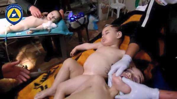 US investigates alleged Syrian regime gas attack