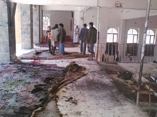 142 dead in Yemen mosque bombings claimed by IS