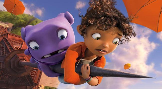 'Home' comfy atop North American box office