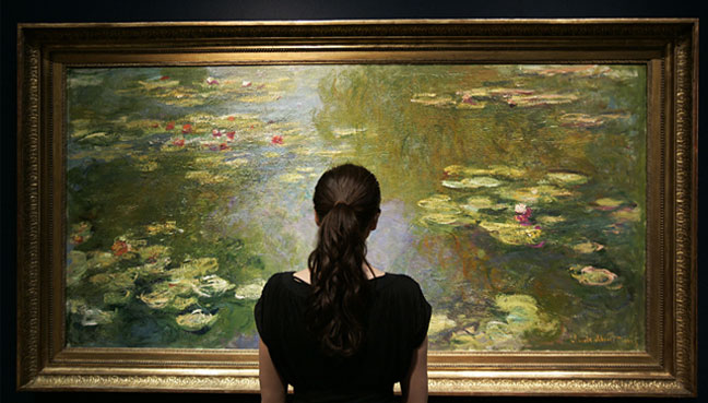 Monet sees star rise again at New York auctions
