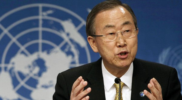UN's Ban wants action to prevent Syria camp 'massacre'