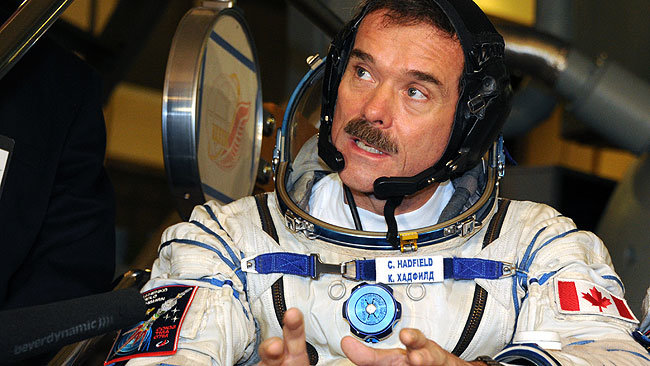 Astronaut Hadfield to release first space album