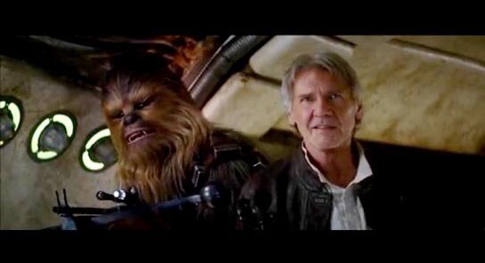 'Chewie, we're home': 'Star Wars' trailer delights fans