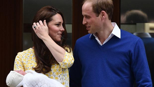 Prince George visits little sister in hospital