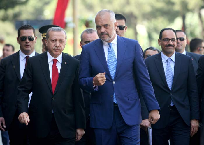 Turkish leader inaugurates grand Tirana mosque construction
