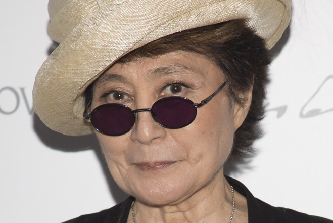 Yoko Ono is star of one-woman New York exhibition