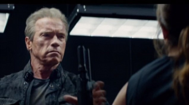 Arnie is back, in new 'Terminator' trailer
