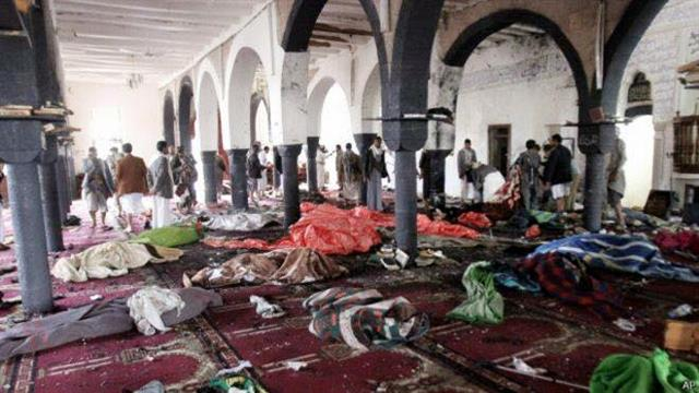 IS suicide bomber attacks Saudi Shiite mosque, killing 21