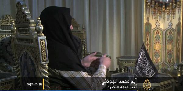 Chief of Al-Qaeda's Syria affiliate pledges no attacks on the West