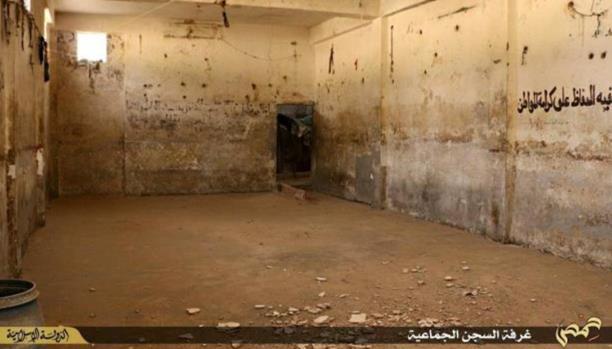 IS destroys infamous Syria prison as regime bombing kills scores
