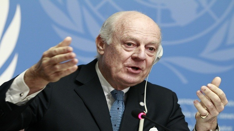 Syria barrel bomb attacks 'unacceptable': UN envoy
